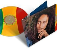 bob marley and the wailers legend 30th anniversary edition colored vinyl